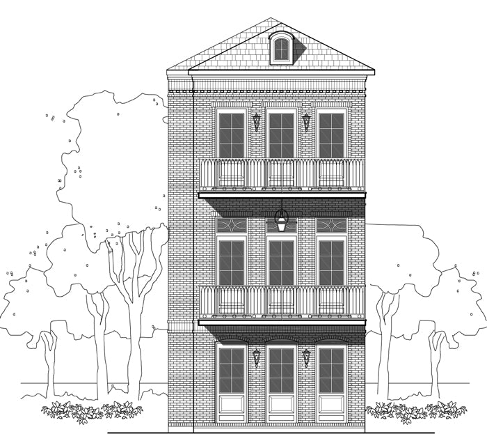 Townhouse Plan E0116 A1.1