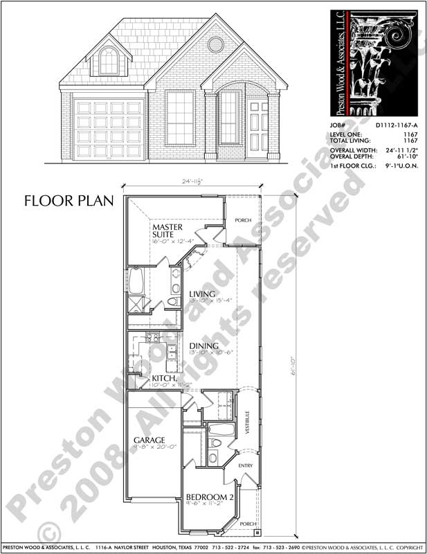 One Story Garden Home Plan D1112 on log cabin floor plans for homes, custom floor plans for homes, cape cod floor plans for homes, luxury floor plans for homes, small floor plans for homes, green floor plans for homes, craftsman floor plans for homes, mountain floor plans for homes, modern floor plans for homes, contemporary floor plans for homes,
