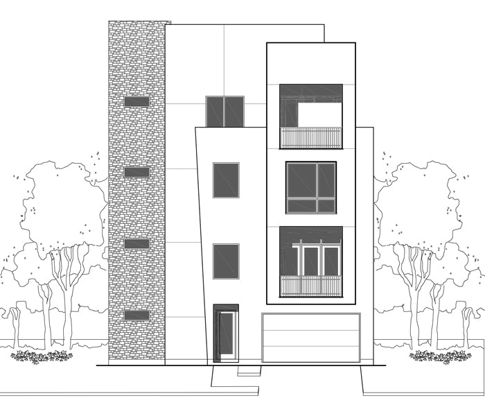 Townhouse Plan E3177 B1.1