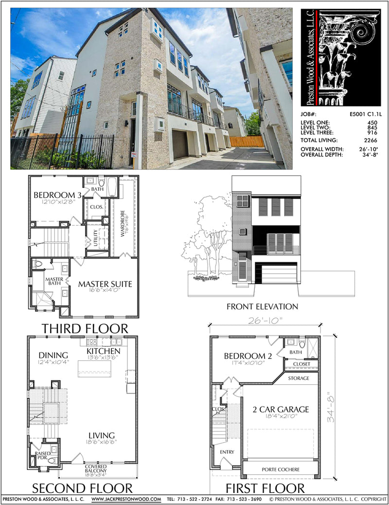 Townhouse Plan E5001 C1.1