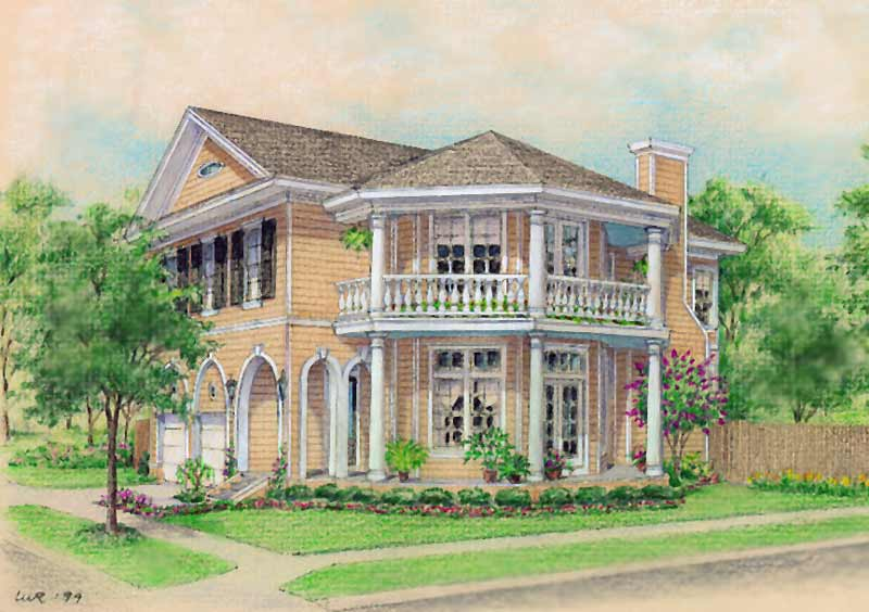 Classical Home Plan C9063