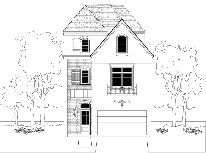 Townhouse Plan E1155 A3.2