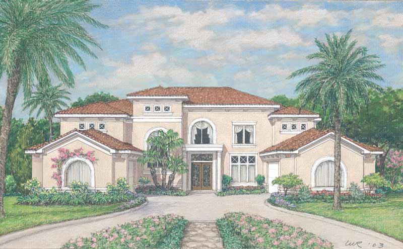 Two Story Home Plan D3050