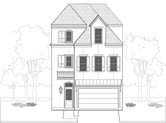 Townhouse Plan E1155 A3.1