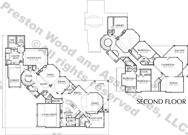Two Story Home Plan D3226