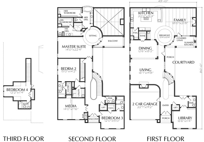 Urban House Plan D8068