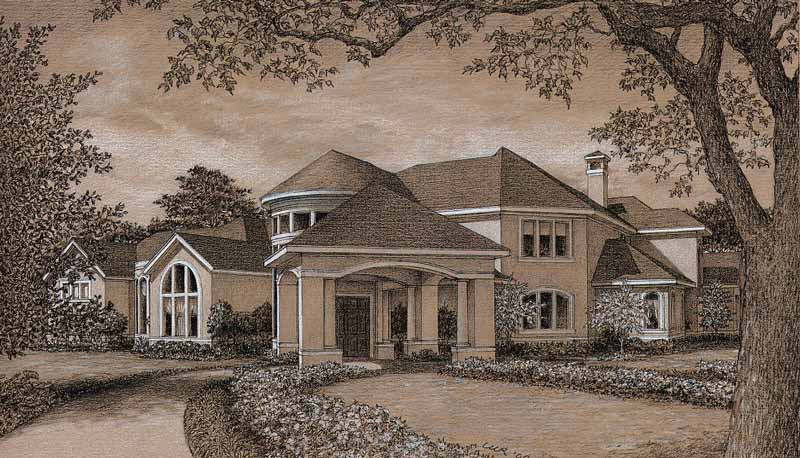 Traditional Style House Plan D0013