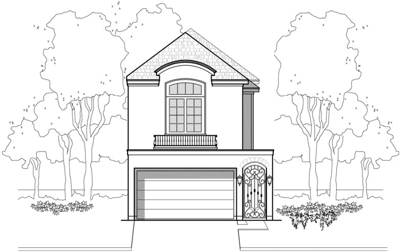 Townhouse Plan E2249 A1.1