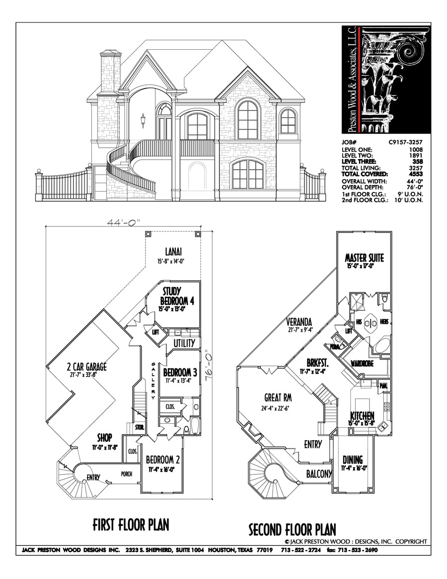Unique Family House Plans, Floor Plan Layout for Two Story ...