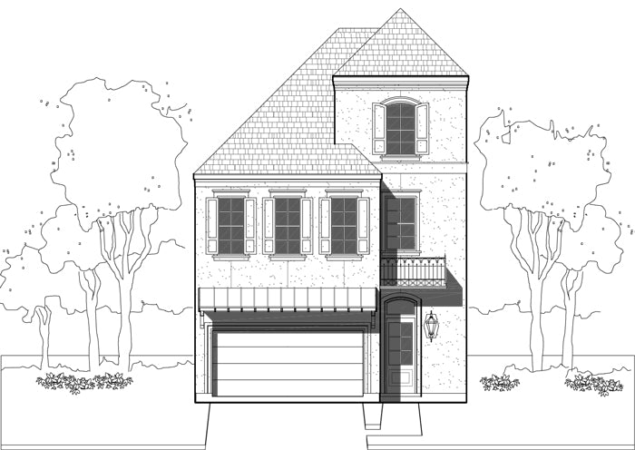 Townhouse Plan E1155 A2.1