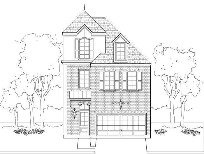 Townhouse Plan E1036 A1.3