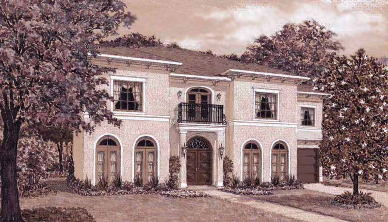 Two Story Home Plan D7092