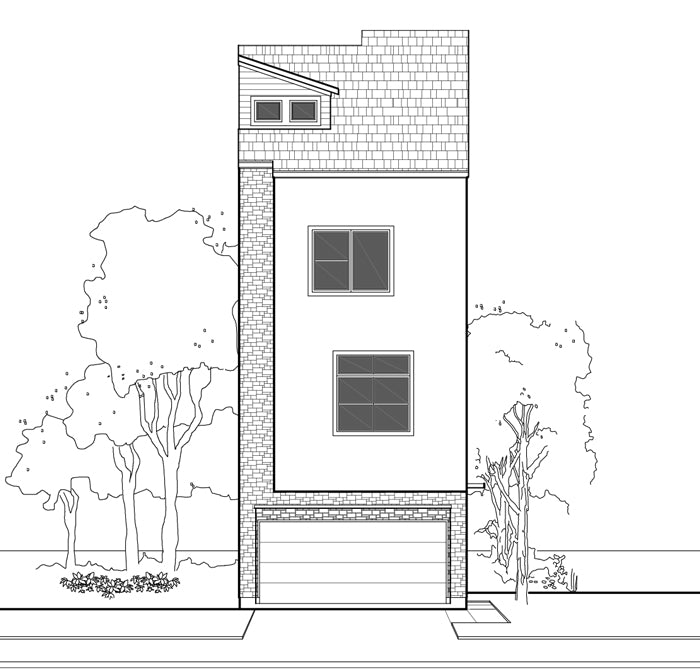 Townhouse Plan E1102 A2.1