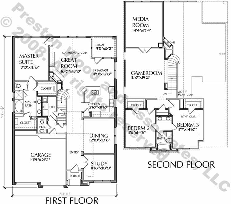 Patio Home Plan aD6163 G3