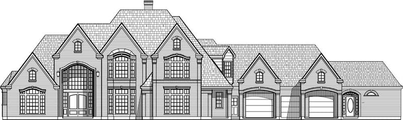 Two Story House Plan C5149