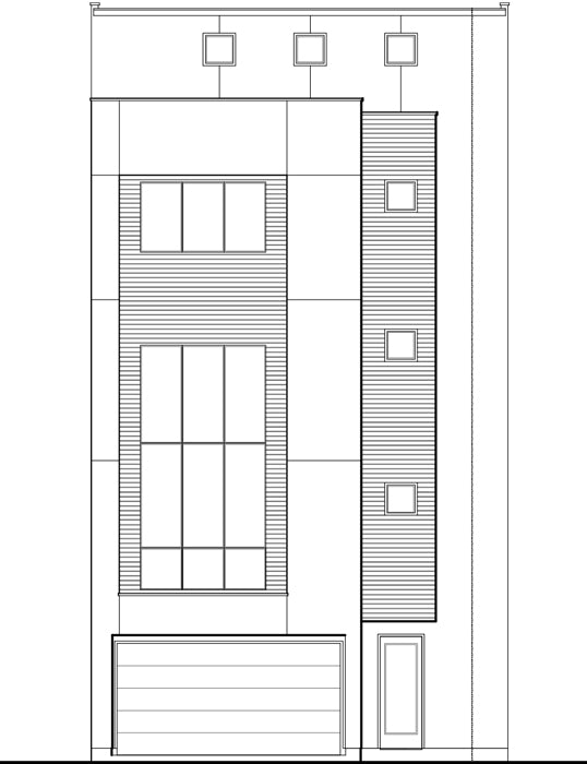 Townhouse Plan E0221 B