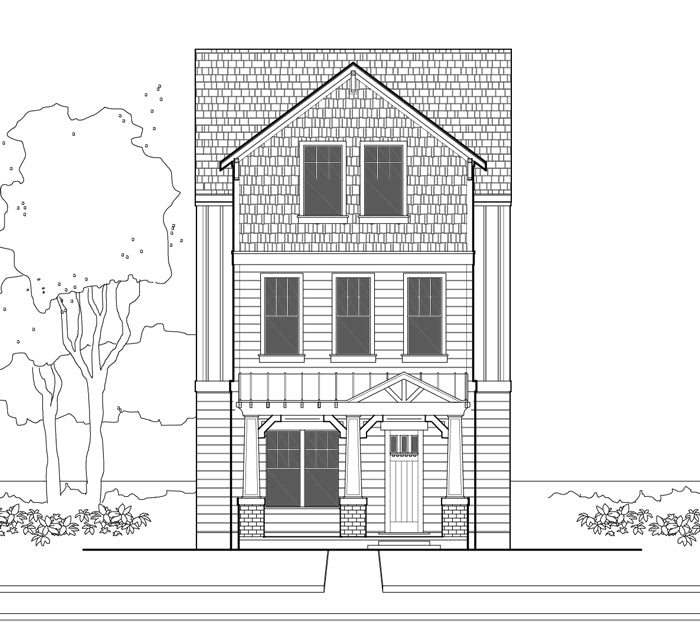 Townhouse Plan E2300 A1.1