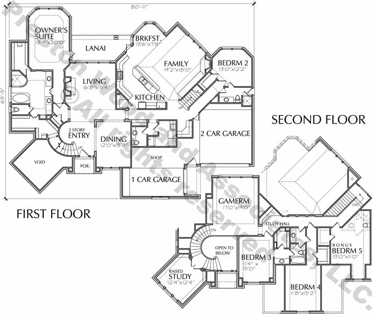 Two Story Home Plan D0322