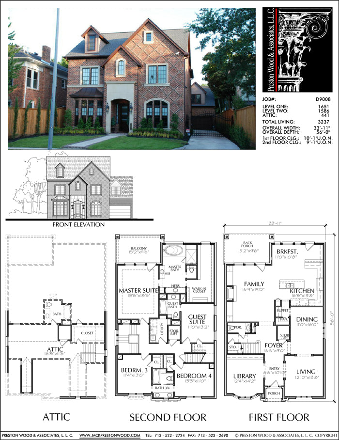 Urban House Plan D9008