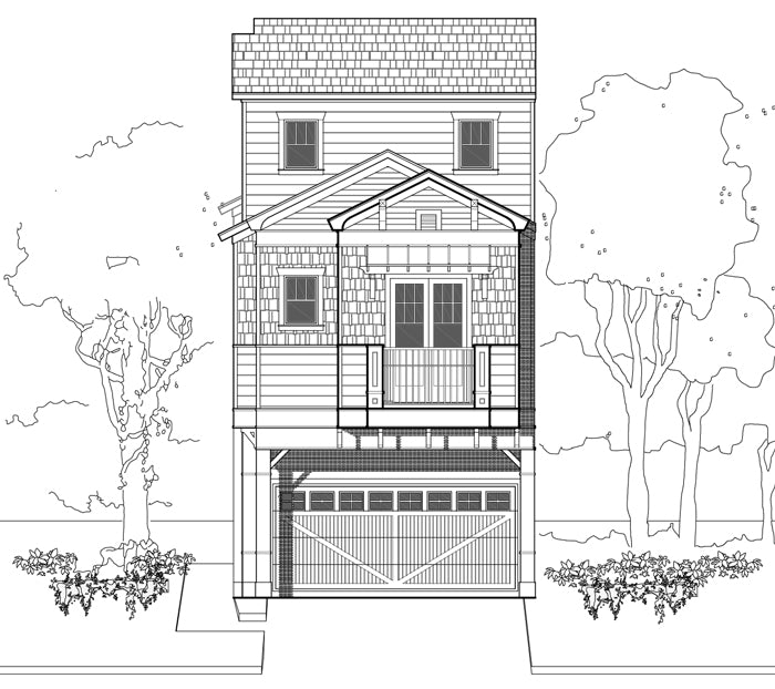 Townhouse Plan E2268 A1.1L