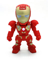 Iron Man Wireless Bluetooth Speaker LED With Battery Pack