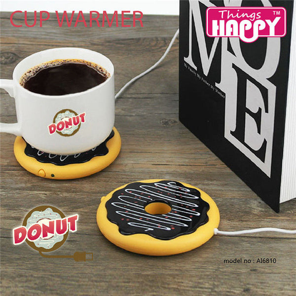 Donut Cup Warmer For Coffee & Tea