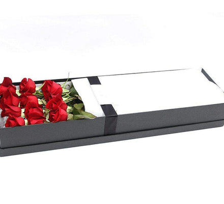 Luxury Dozen Roses Boxed-Roses in a Box Melbourne