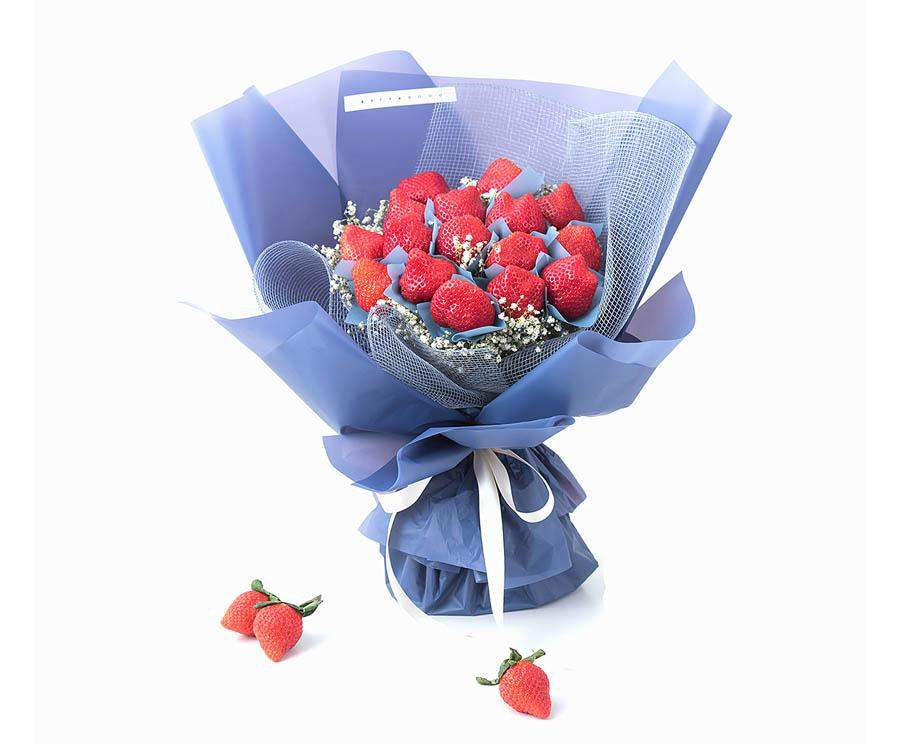 Fresh Strawberry Bouquet Delivery Melbourne