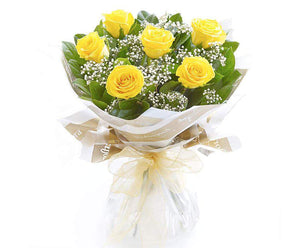 Daily Flowers Melbourne - Yellow Roses