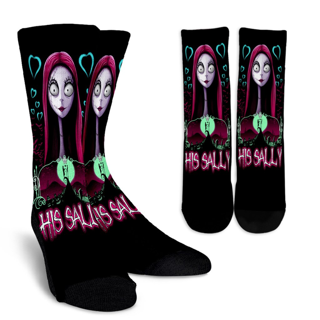 His Sally Nightmare Before Christmas Socks – BONGROUP