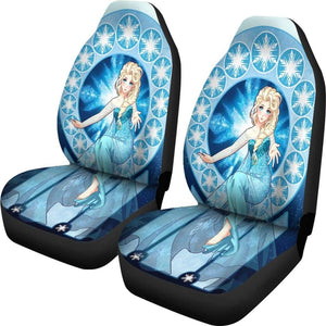 Elsa Frozen Car Seat Covers