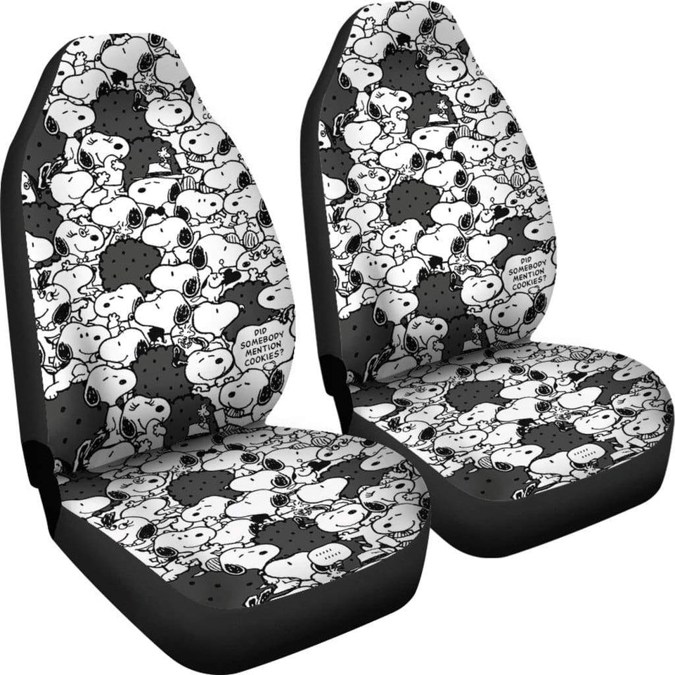 Snoopy Car Seat Covers 1