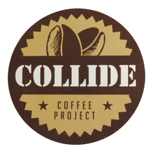 Collide Sticker