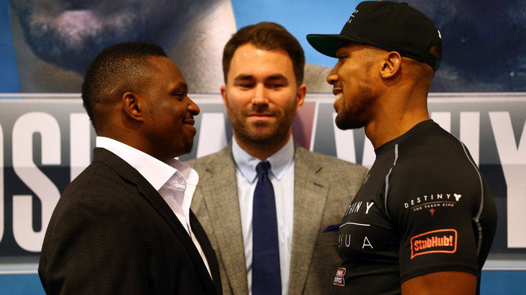 Dillian Whyte would replace Joseph Parker as Anthony Joshua's next opponent