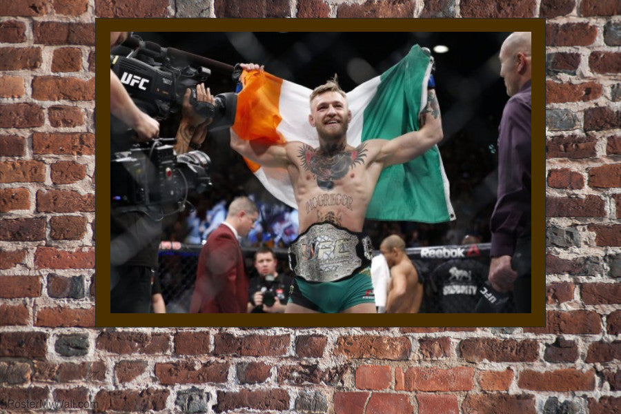 "Conor McGregor UFC Featherweight Poster 36"" x 24"""
