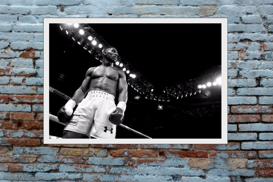 "Anthony Joshua - IBF World Champion 36""x24"" Poster"