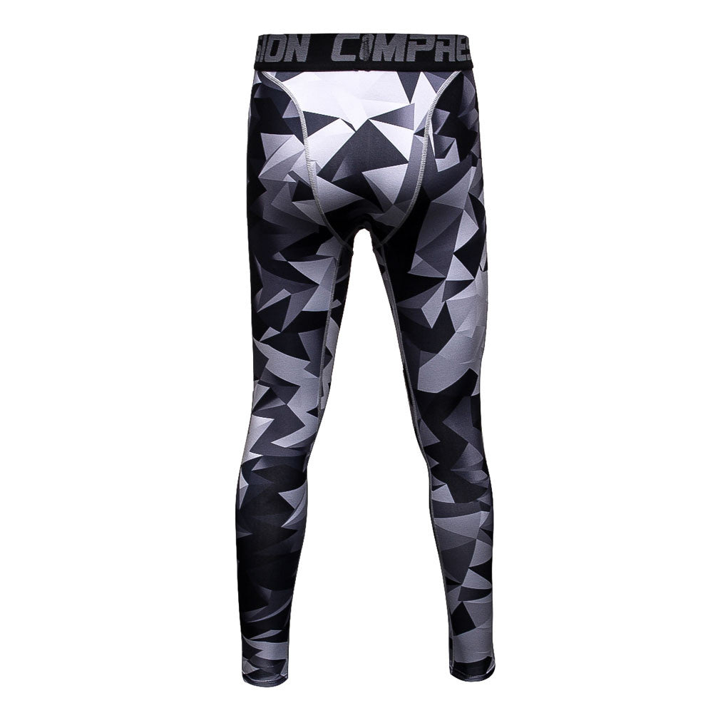 FLYFIRE Oblique Camo Compression Pants