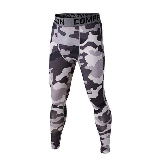FLYFIRE Snow Camo Compression Pants