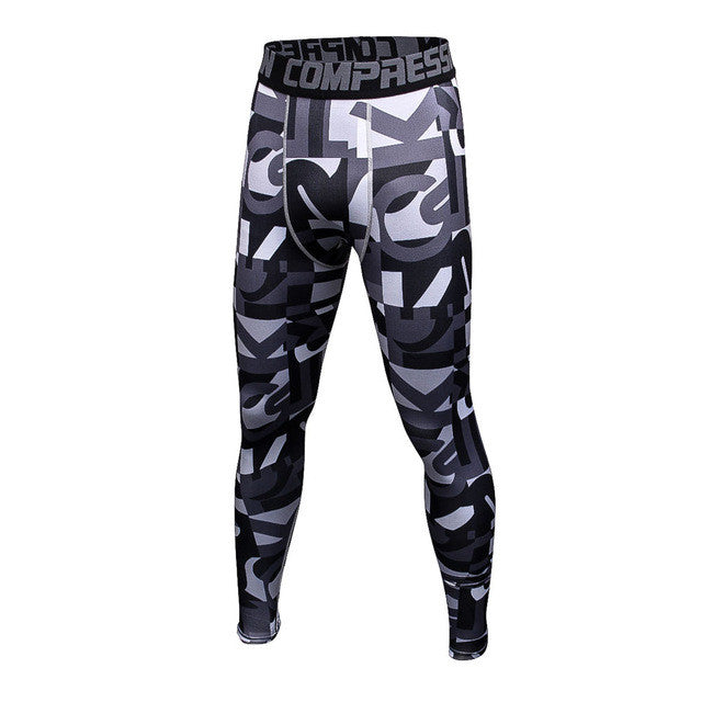 FLYFIRE Great Camo Compression Pants