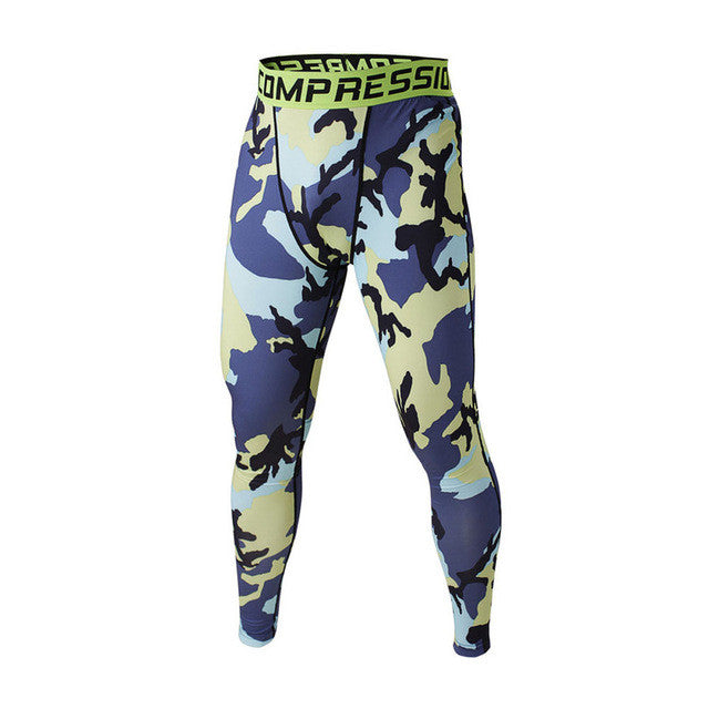 FLYFIRE Euro Camo Compression Pants