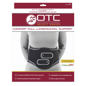 COMFORT PULL LUMBROSACRAL SUPPORT