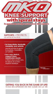MKO KNEE SUPPORT SPIRAL STAYS CLOSED PATELLA
