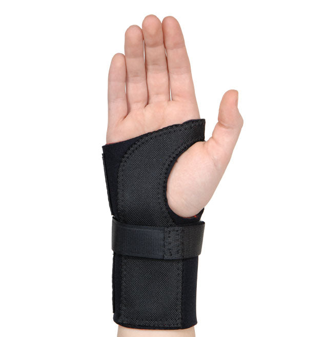 CONTOURED WRIST STABILIZER WITH STAYS