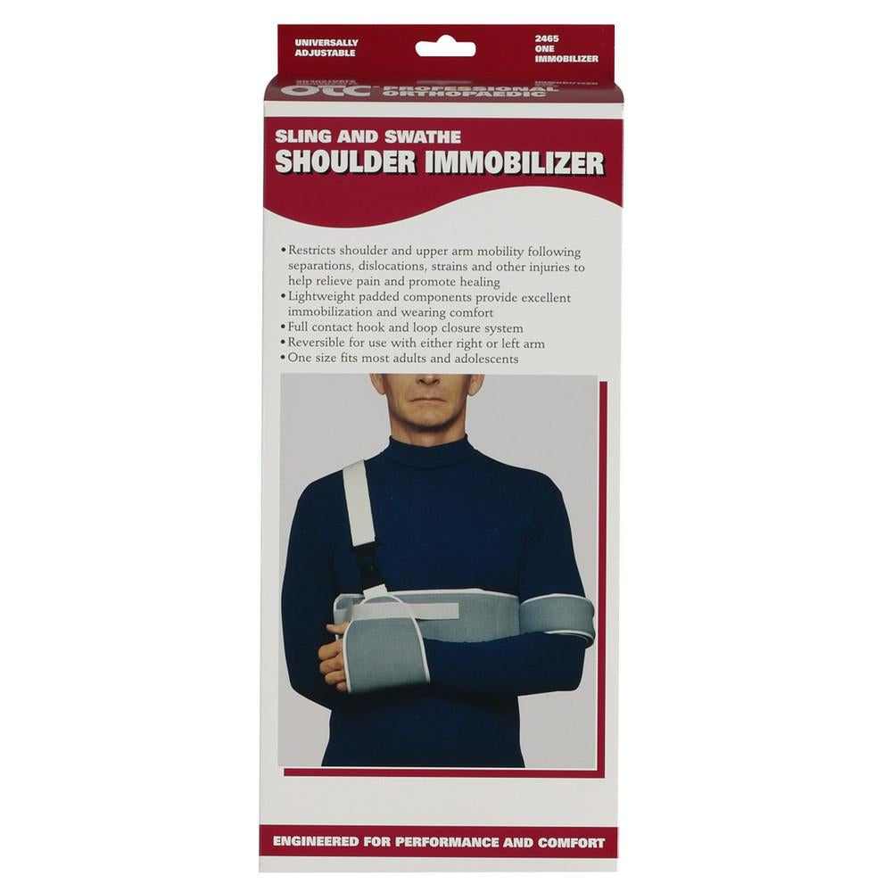 SLING & SWATHE SHOULDER IMMOBILIZER