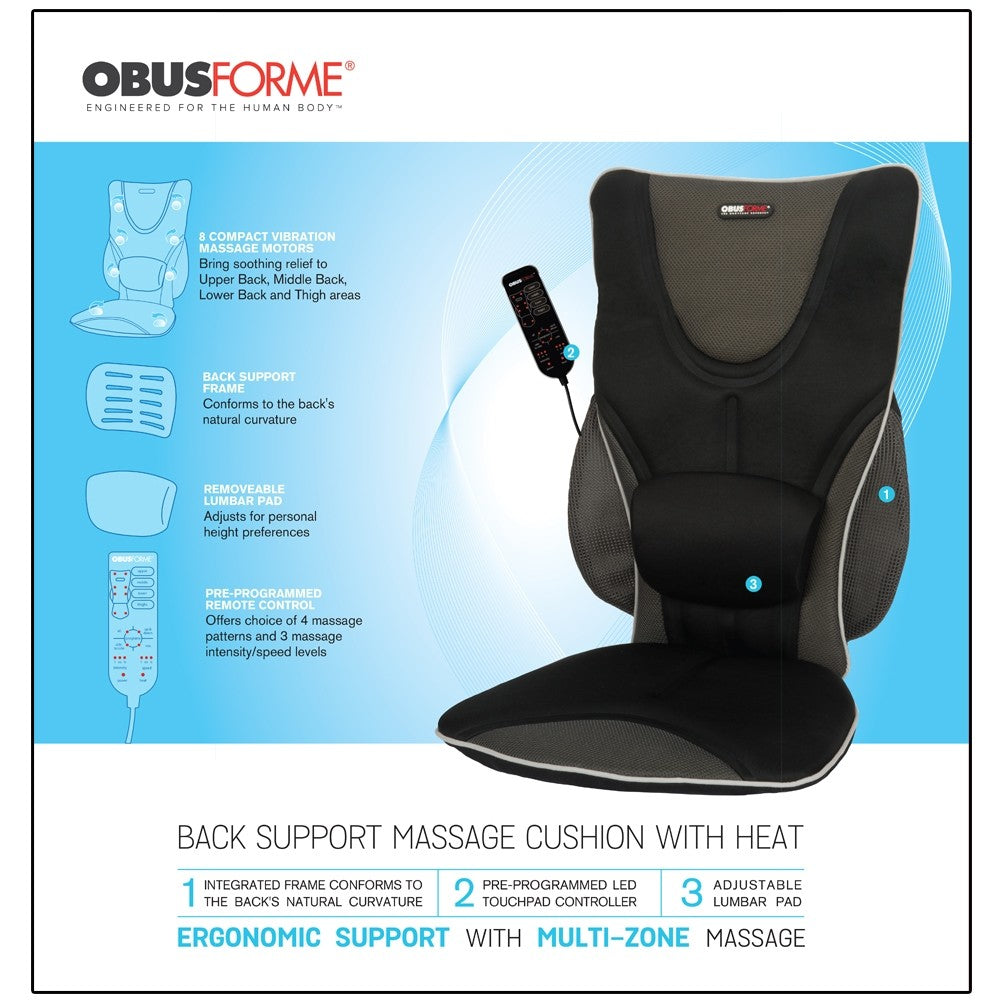 DRIVER'S SEAT HEATED BACKREST SUPPORT