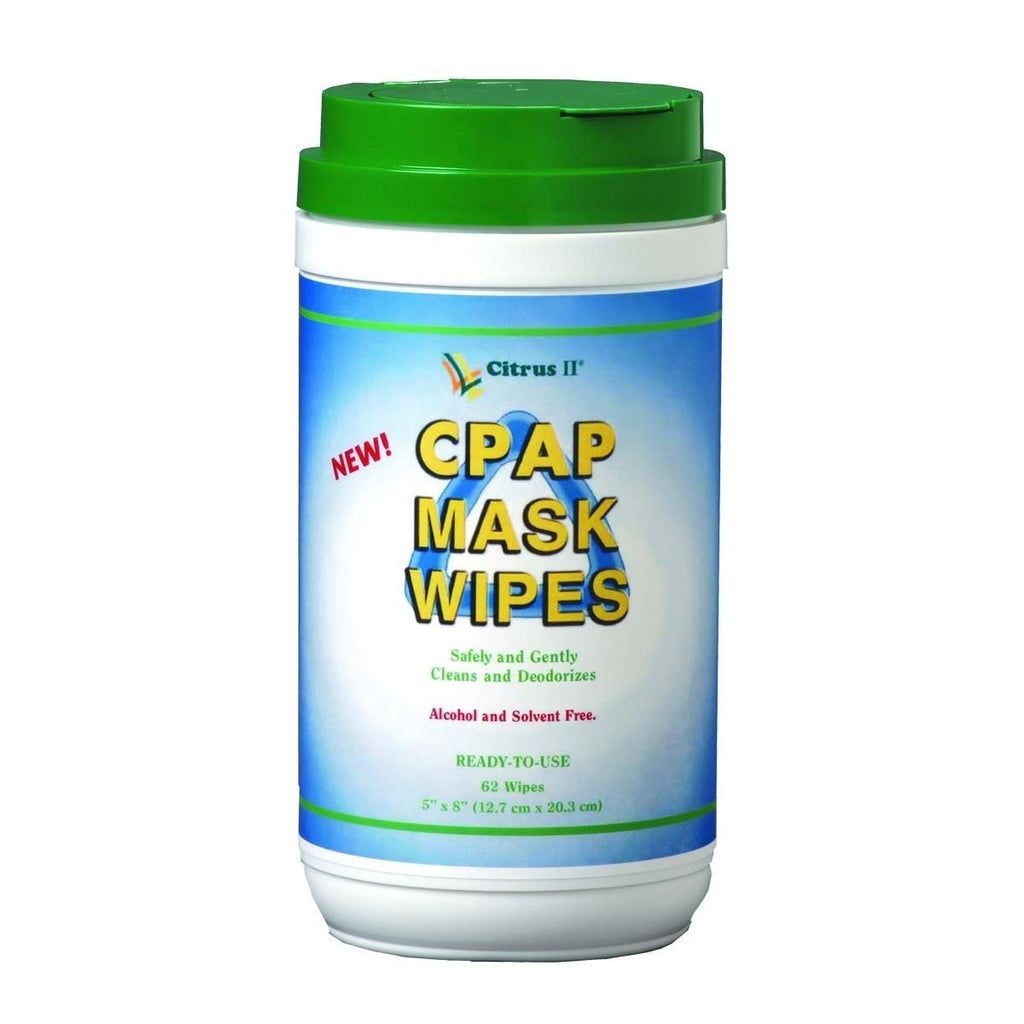 CITRUS II CPAP MASK CLEANING WIPES