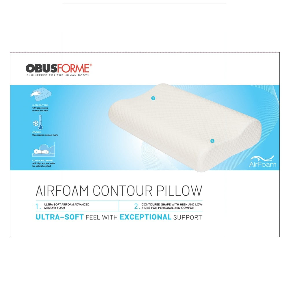 AIRFOAM CONTOUR MEMORY FOAM PILLOW