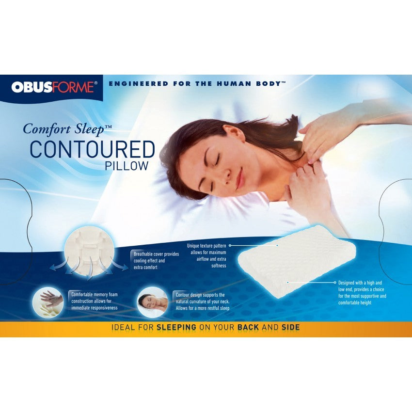 COMFORT SLEEP CONTOURED PILLOW