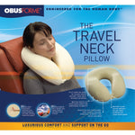 DELUXE MEMORY FOAM TRAVEL PILLOW