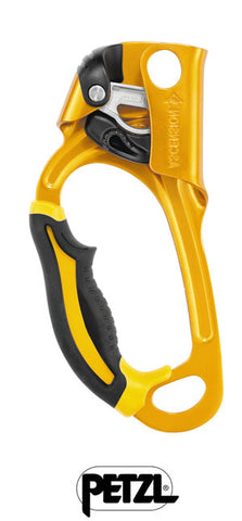 PETZL ASCENSION – LEFT HANDED